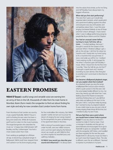 Page 13 of Singer Songwriter Nikhil D'Souza