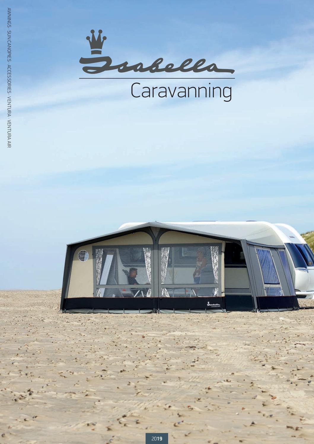 Isabella Shadow 400 Lightweight and Simple Caravan Sun Canopy