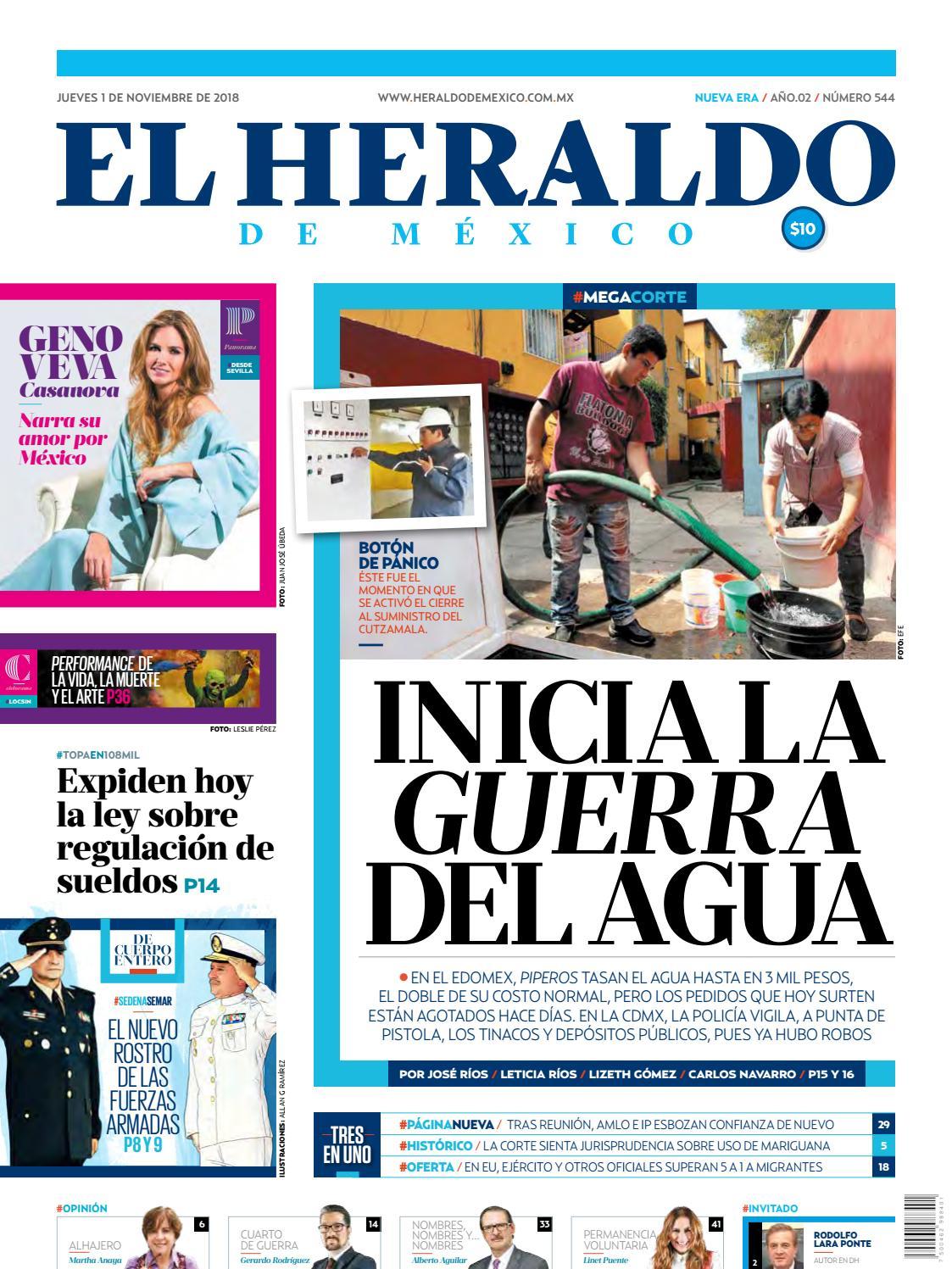 1 de noviembre de 2018 by El Heraldo de México - issuu 4349d6c84deb