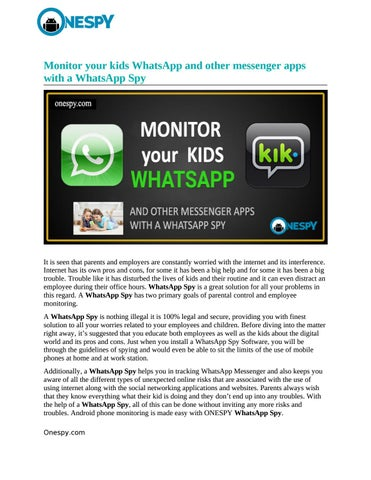 Whatsapp hack and spy conversation 2018 exe by paulyirtv - issuu