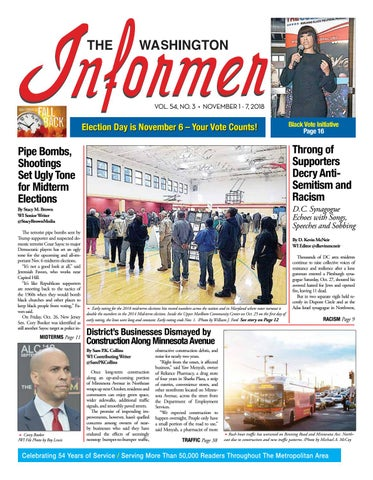 The Washington Informer - November 1 84ccd28669a2