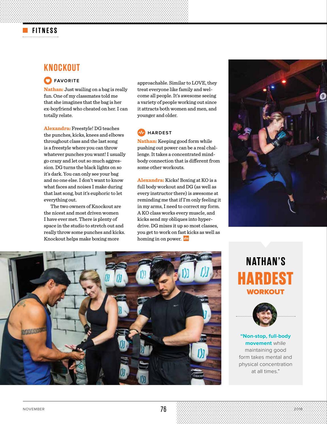 November 2018 - Influencer Issue by Austin Fit Magazine - issuu