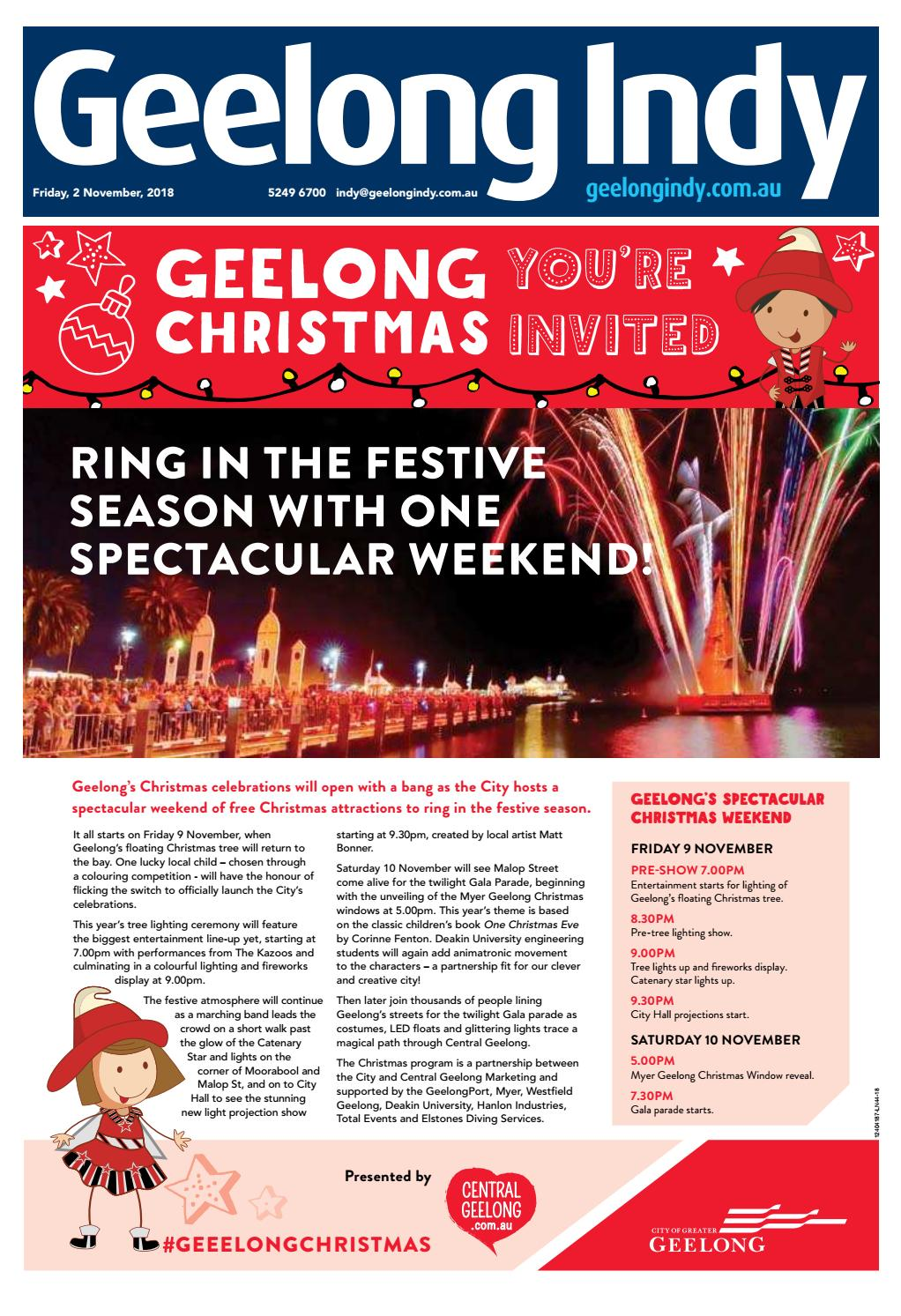 Geelong Indy 02nd November 2018 By Star News Group Issuu