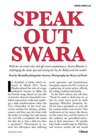 Page 25 of Speak Out Swara