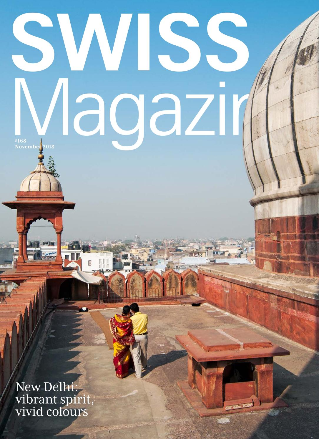 1cdc8e7cec559e SWISS Magazine November 2018 - NEW DELHI by SWISS Inflight Magazines - issuu