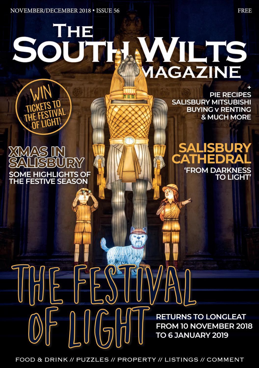 The South Wilts Magazine - Nov/Dec 2018 by Lisa Rockliffe