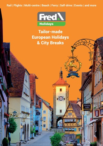 Fred \ Holidays 2019 Brochure