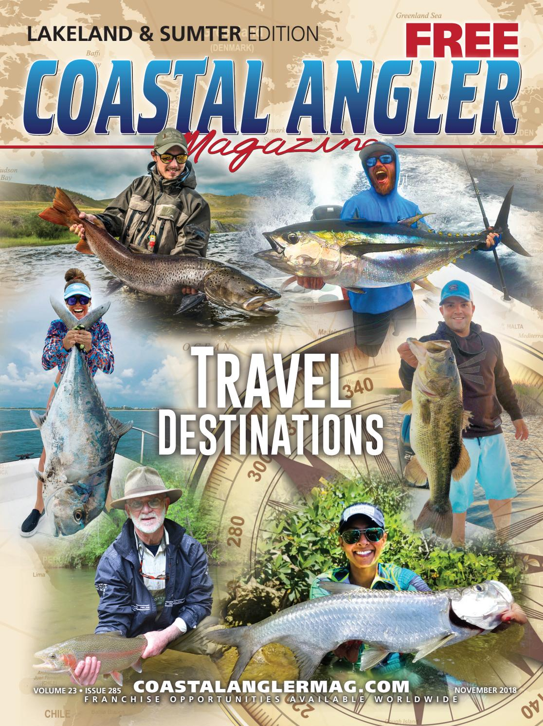 Coastal Angler Magazine - November / Lakeland by Coastal