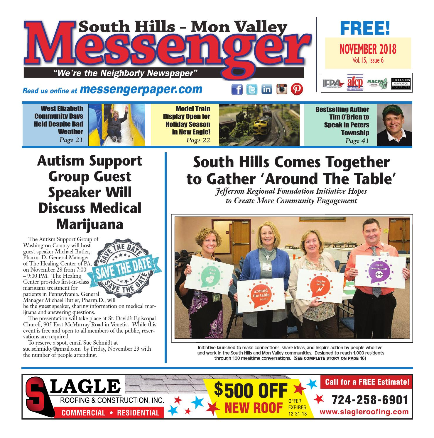 South Hills Mon Valley Messenger November 2018 by South Hills Mon ... 18a021f68