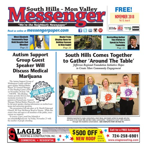 South Hills Mon Valley Messenger November 2018 by South Hills Mon ... b9bc335fabb7d