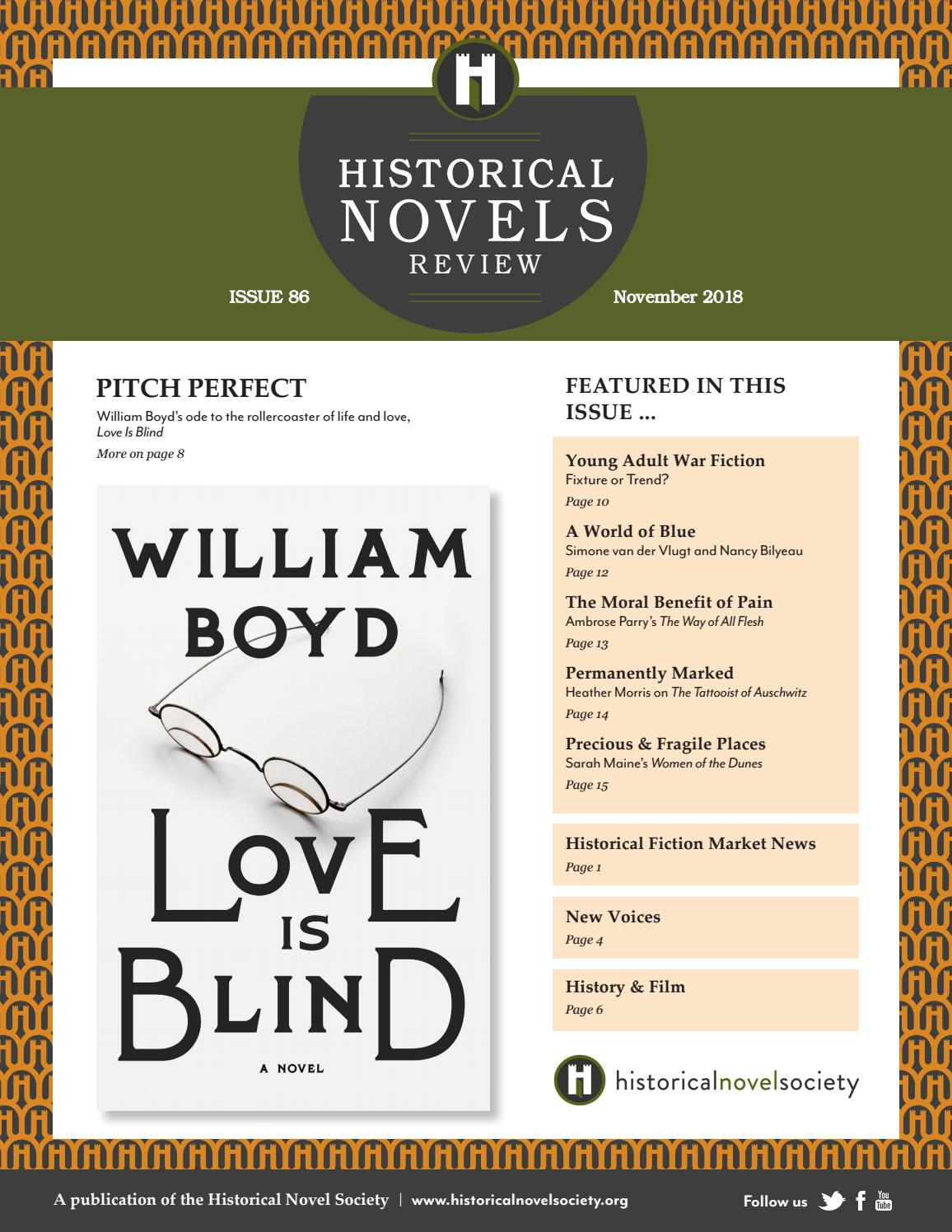Historical Novels Review Issue 86 November 2018 By The Historical Novel Society Issuu
