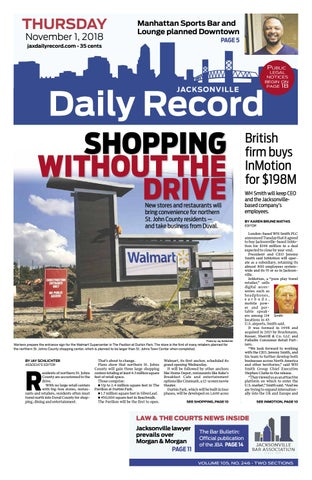 Jacksonville Daily Record 11 1 18 by Daily Record   Observer LLC - issuu e2feb75e5420