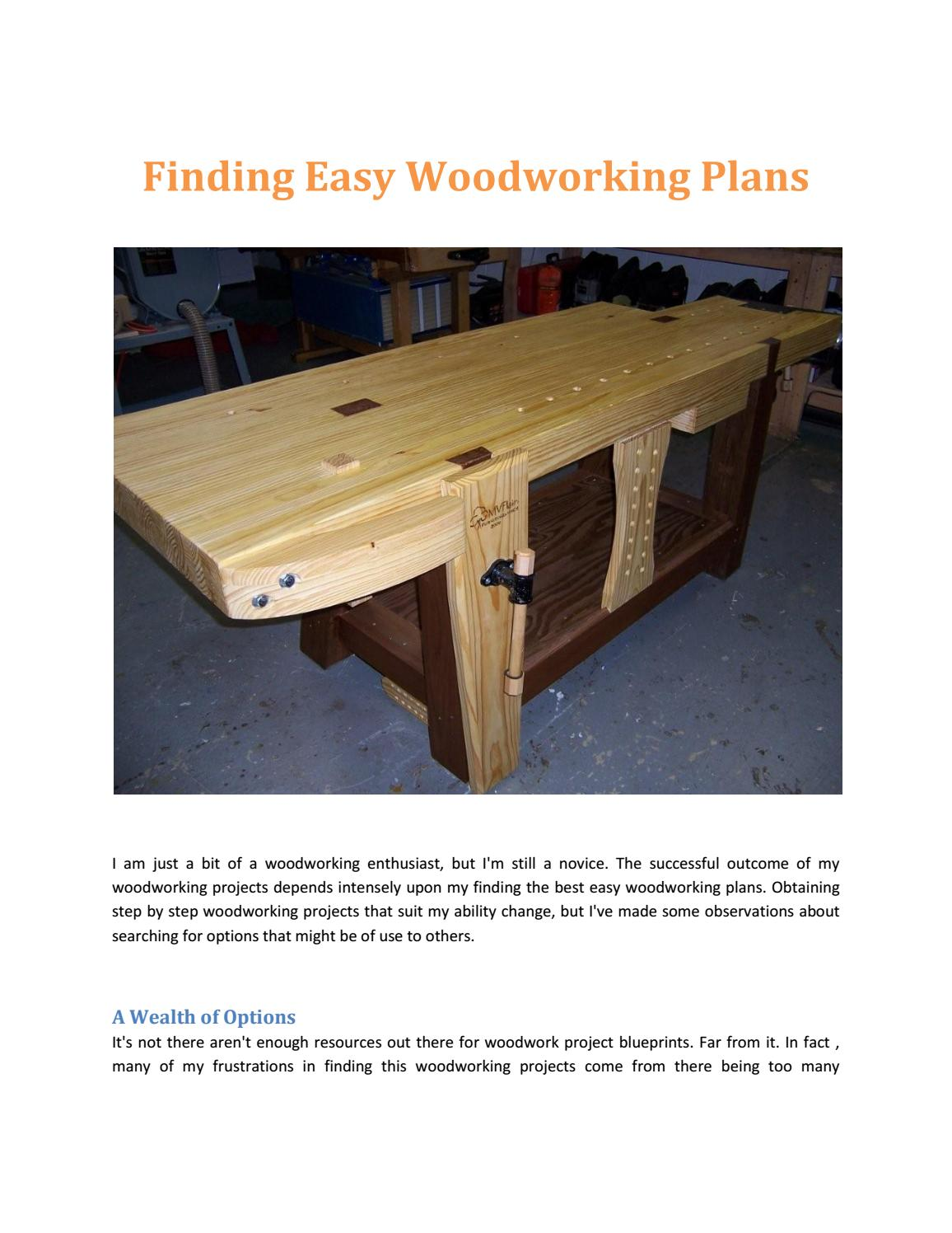 Free Woodworking Plans Pdf By Michaelfarley23 Issuu