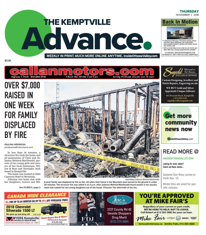 OTV K A by Metroland East Kemptville Advance issuu