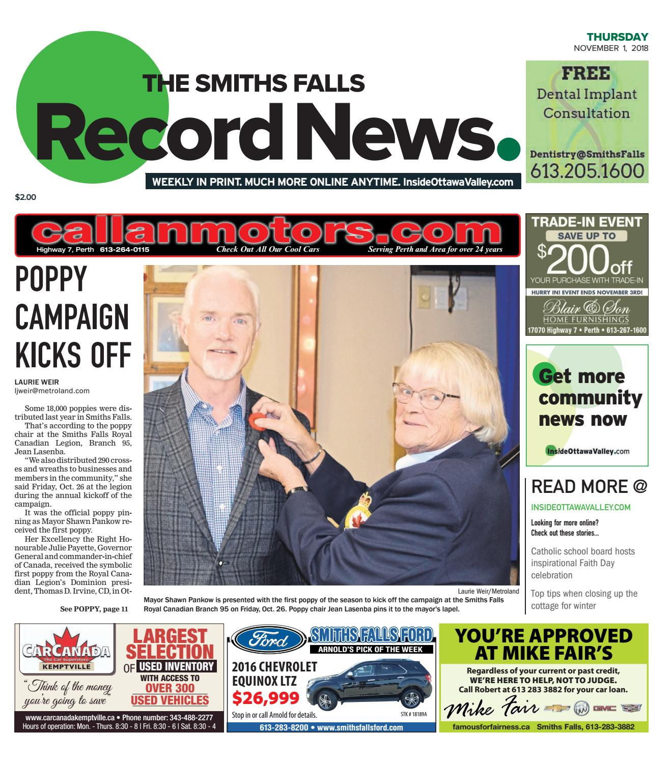 OTV S A by Metroland East Smiths Falls Record News issuu