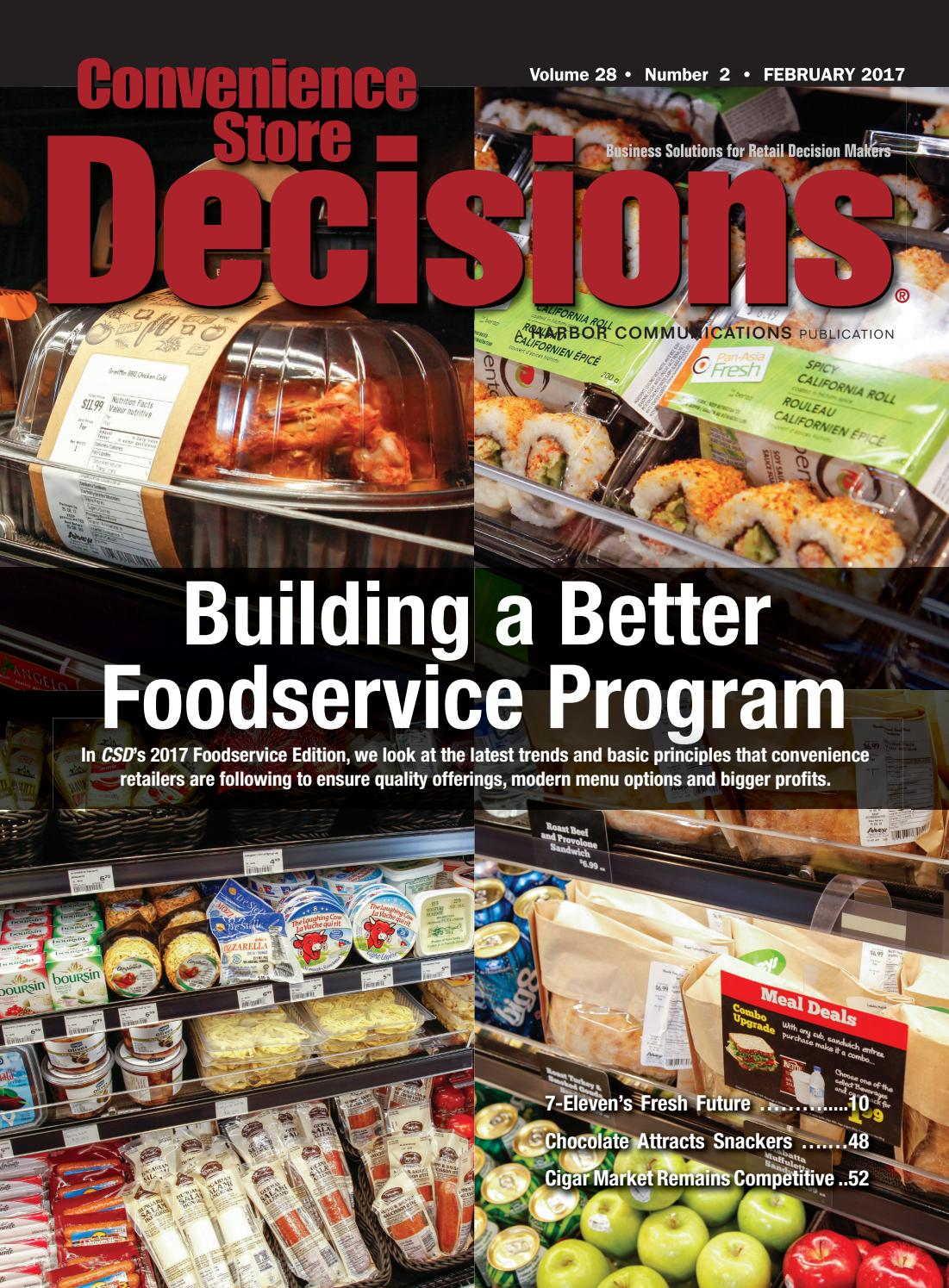 Convenience Store Decisions February 2017 By WTWH Media LLC