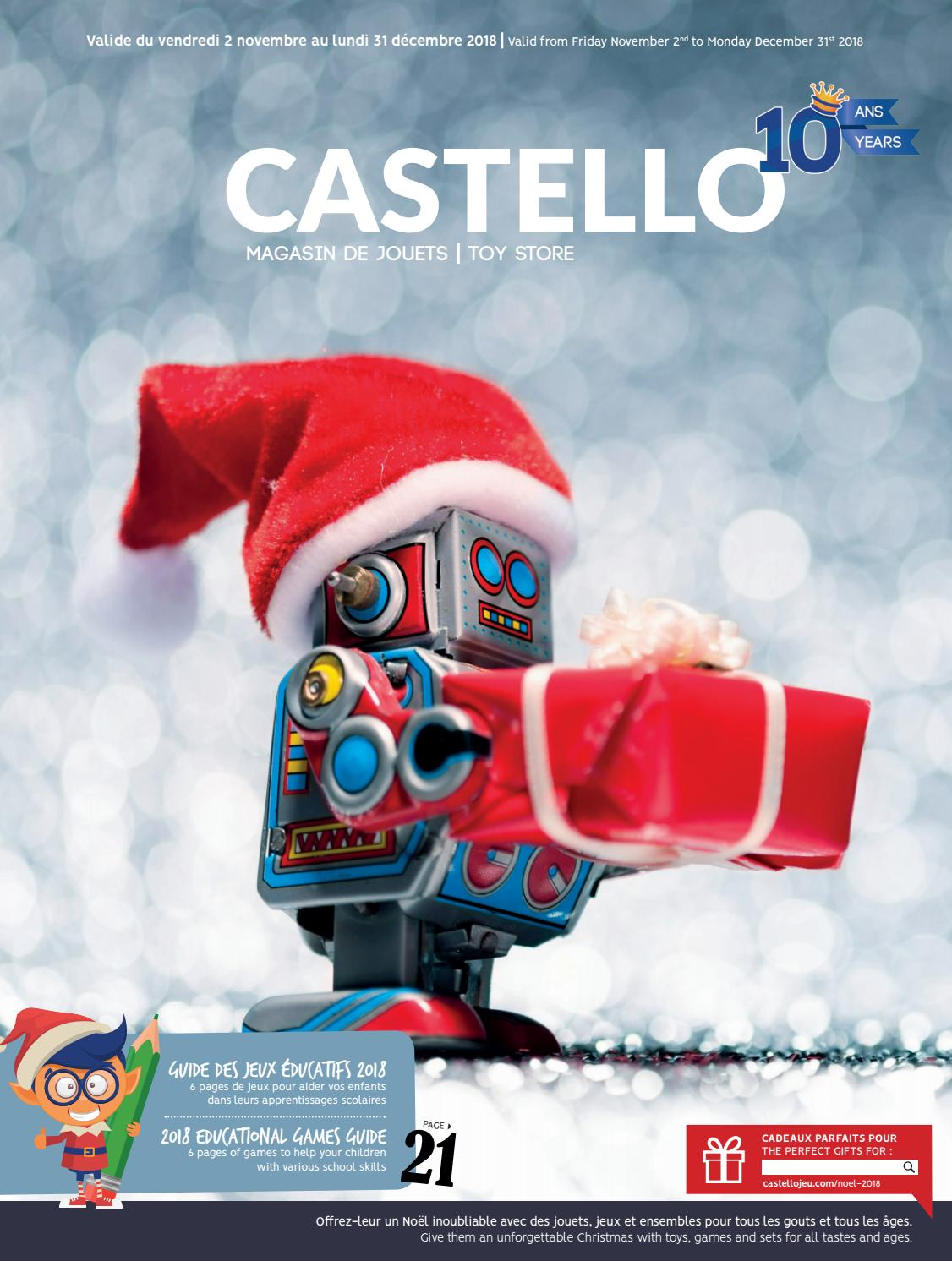 2018 Castellojeu Issuu By De Castello Noël Catalogue XuPiZOk
