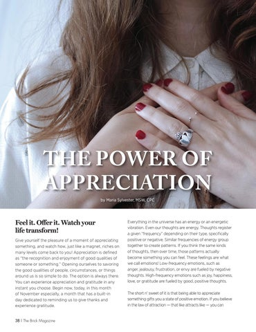 Page 38 of The Power of Appreciation