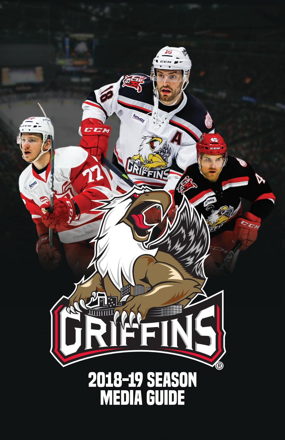 2018 19 Grand Rapids Griffins Media Guide By Grand Rapids Griffins Issuu