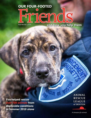 Our Four-Footed Friends Fall/Winter 2018 by Animal Rescue
