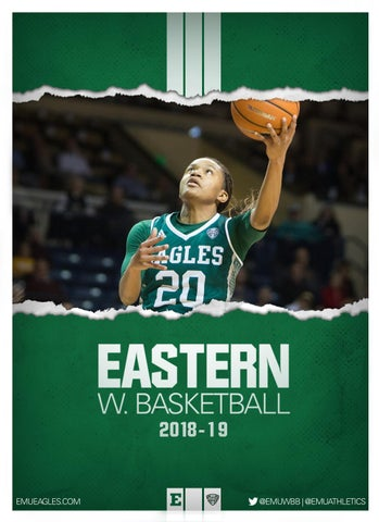 2018-19 EMU Women s Basketball Digital Media Guide by Eastern ... 391eacb8c