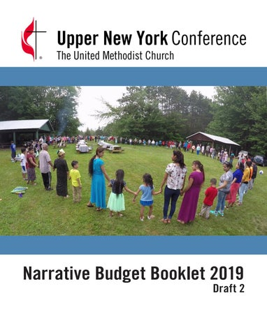 2019 UNY Narrative Budget Booklet Draft 2 by Upper New York