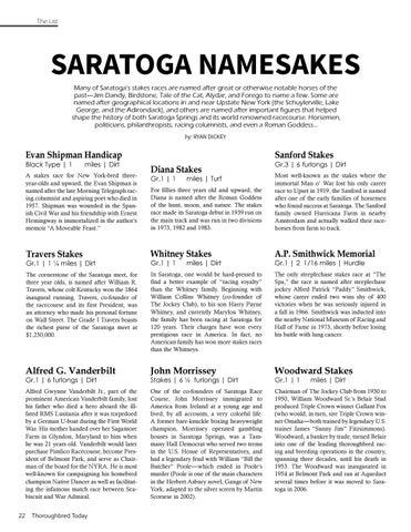 Page 22 of Saratoga Namesakes