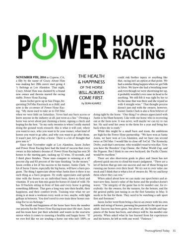 Page 31 of Power Hour Racing