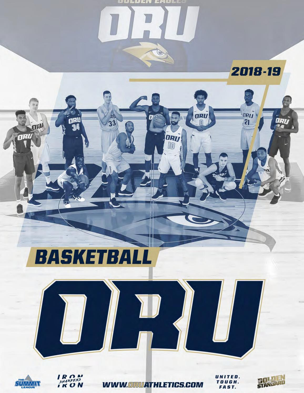 2018-19 ORU Men's Basketball Media Guide by ORU Athletics
