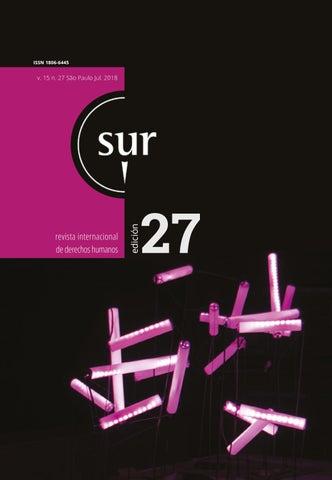 Sur 27 Español by Conectas Direitos Humanos - issuu 24e217fe455a0