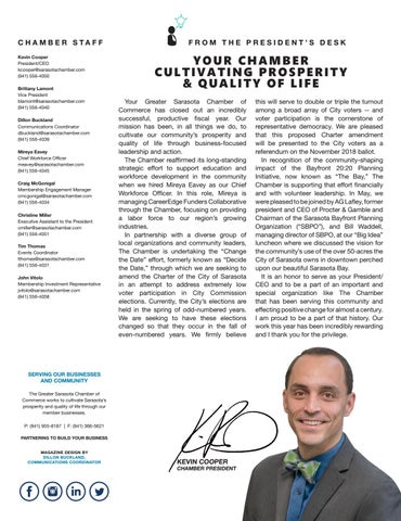 Page 3 of Your Chamber Cultivating Prosperity & Quality of Life