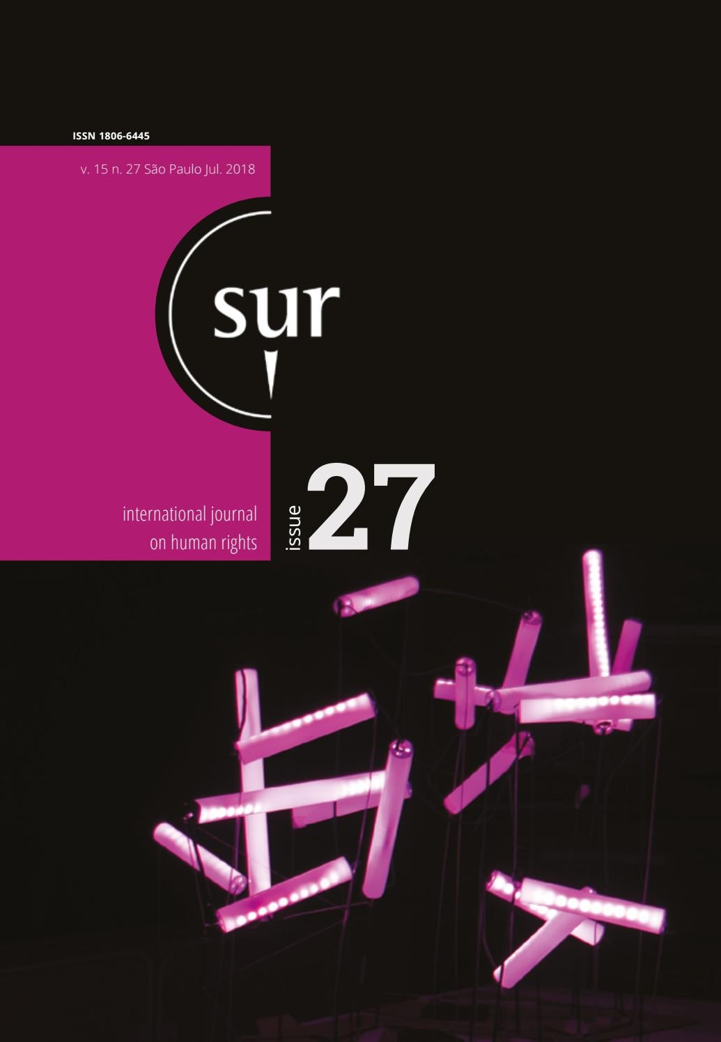 Sur 27 English by Conectas Direitos Humanos - issuu