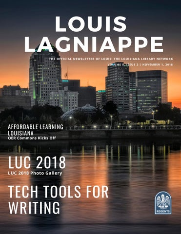 LOUIS Lagniappe Volume 5, Issue 2 by LOUIS Libraries - issuu