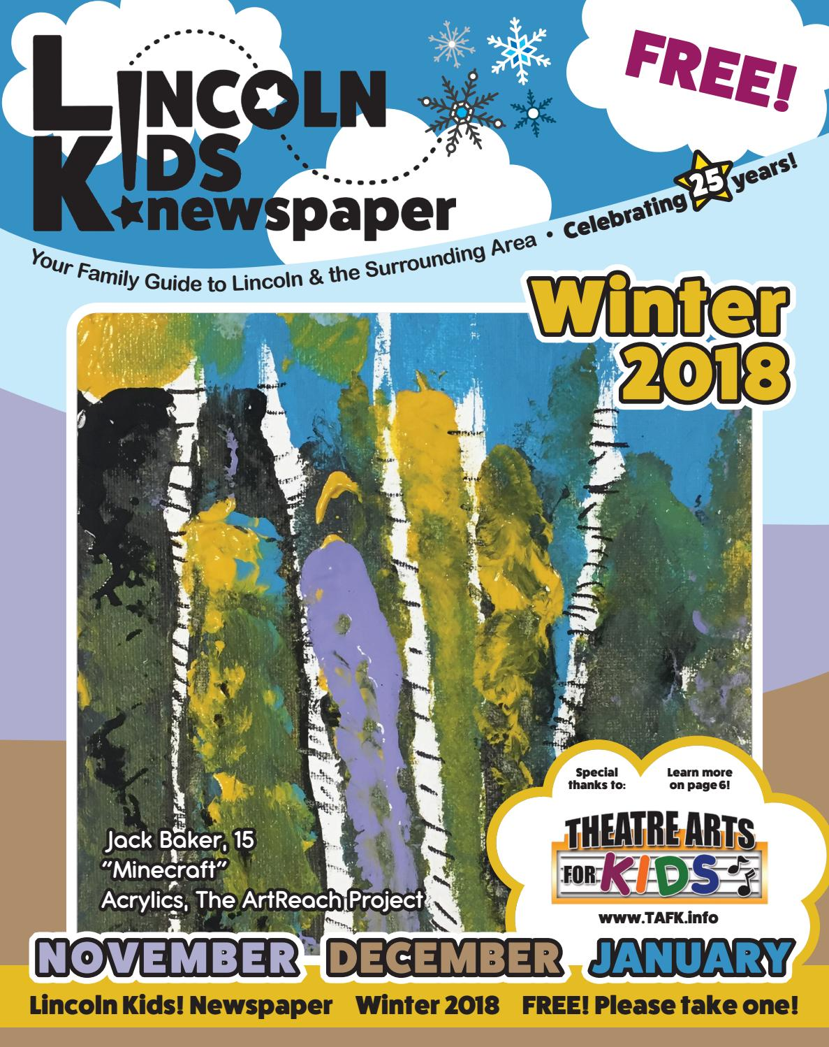 envelope pillow tutorial diy inspired.htm lincoln kids  newspaper winter 2018 edition by lincoln kids  issuu  lincoln kids  newspaper winter 2018