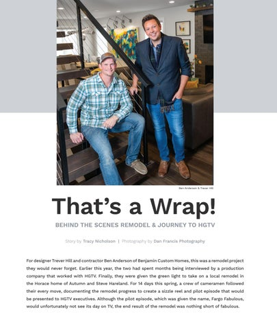 Page 22 of That's a Wrap! [ Behind the Scenes Remodel & Journey to HGTV ]