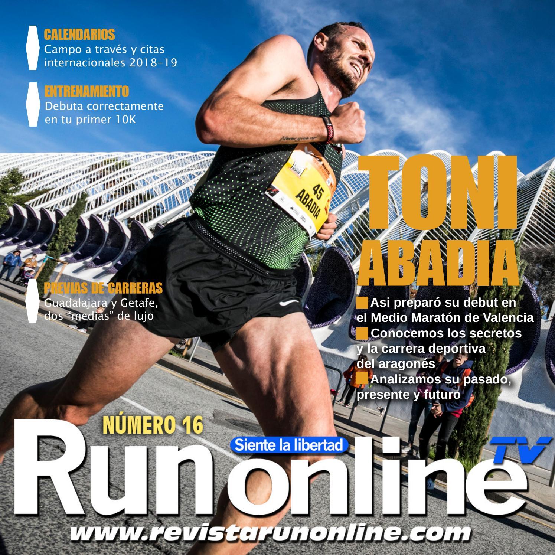Entrenamiento maraton 2020 powerade plan de