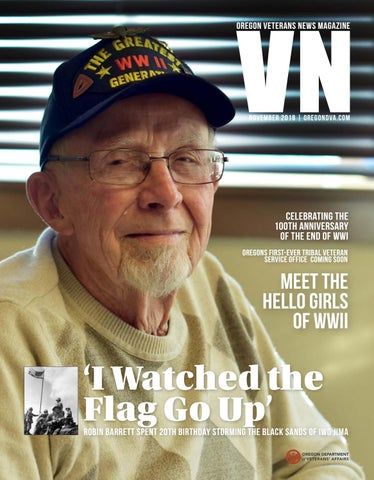 4e54cde68a6 Oregon Veterans News Magazine Issue 4 by Oregon Department of ...
