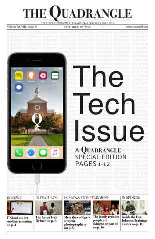 Issue 9, Fall 2018 - The Quadrangle by Manhattan College