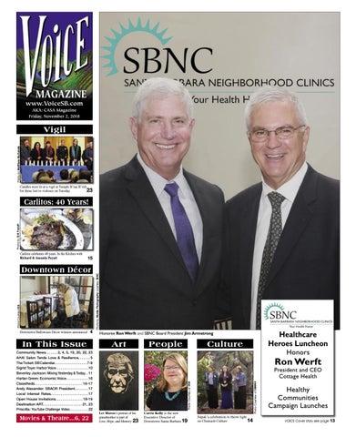VOICE Magazine: November 2, 2018 by Voice Magazine / CASA