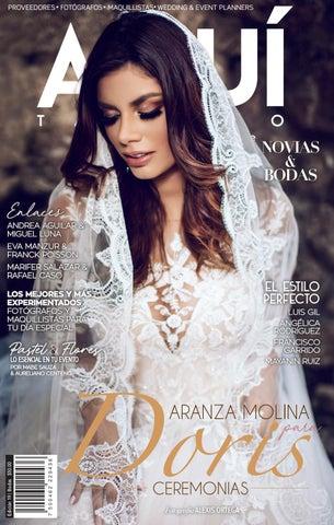 822f19a21 19ª Edición 2º Aniversario 2018 Portada Aranza Molina   Doris Ceremonia