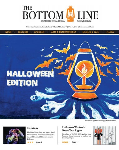 Spring 2017 Issue 8 by The Bottom Line (UCSB) - issuu