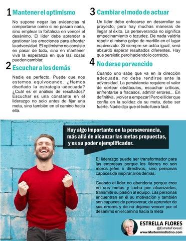 Page 11 of Lecciones para aprender de los fracasos por Estrella Flores-Carretero