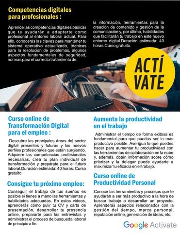 Page 15 of Desarrolla tus competencias digitales por Lorinda Coelho