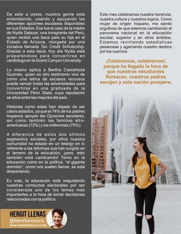 Page 23 of Mejorar la educación a través de las opciones escolares por Hergit Llenas
