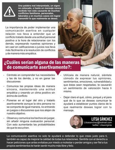 Page 27 of Claves para comunicarte asertivamente por Litsa Sanchez