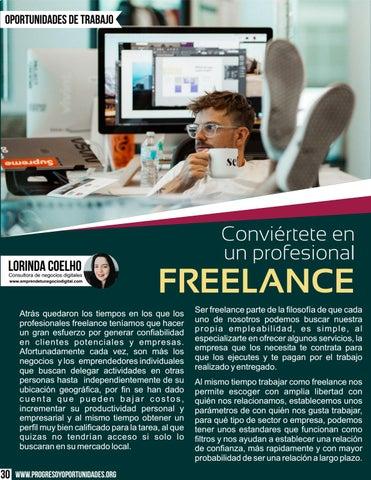 Page 30 of Conviértete en un profesional Freelance por Lorinda Coelho