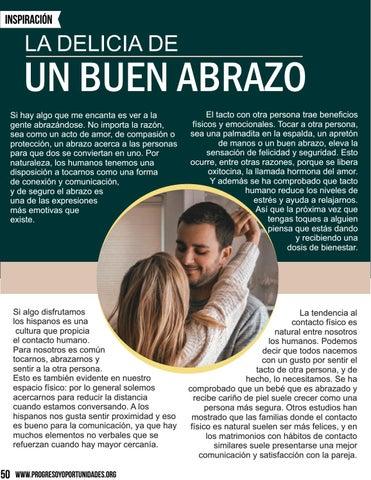 Page 50 of La Delicia de un buen abrazo por Eli Bravo