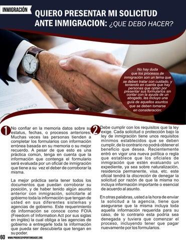 Page 60 of Quiero presentar mi solicitud ante inmigración por Ricardo Tapia