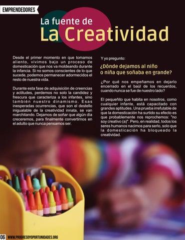 Page 6 of La fuente de la creatividad por Ismael Cala