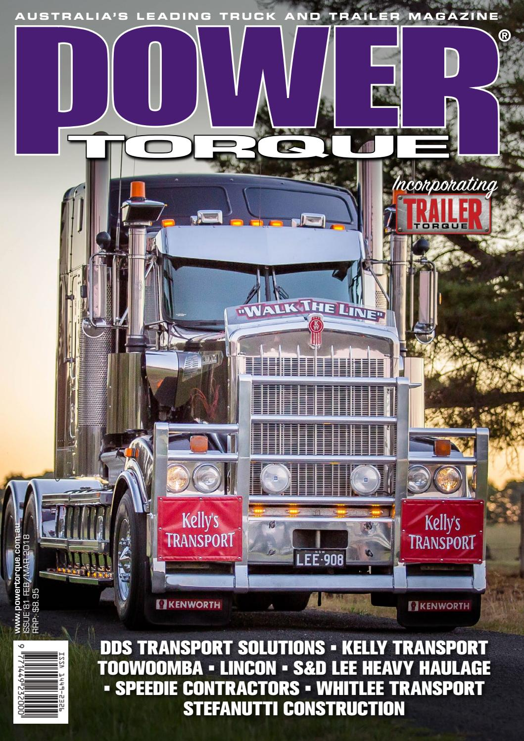 POWERTORQUE ISSUE #81 FEB/MARCH 2018 by Motoring Matters Magazine